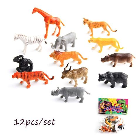2 PCS British Horses Animal Model Set Children Cognitive Farm Scene Toys Gifts