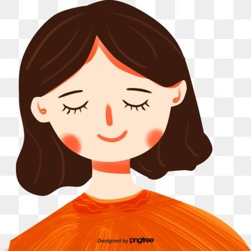 Cute Girl Closed Eyes Character Illustration Cute Girl Clipart Lovely Girl Png Transparent Clipart Image And Psd File For Free Download In 2021 Character Illustration Eyes Clipart Girl Clipart