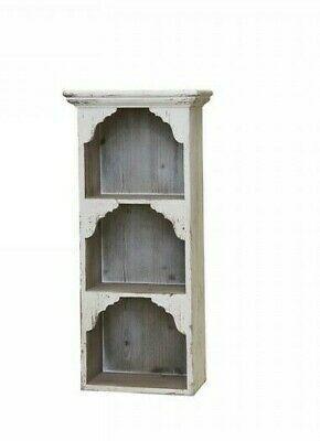 Wandregal Holz Hangeregal Aufbewahrung Schrank Chic Antique