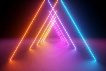 Image Result For Rendered Ultraviolet Yellow Blue Neon Lights Neon Neon Lighting