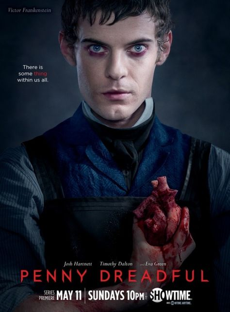 Penny Dreadful | Harry Treadaway as Dr. Victor Frankenstein | #Horror #Paranormal
