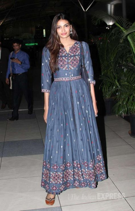 Athiya Shetty at the airport. #Bollywood #Hero #Fashion #Style #Beauty #Desi