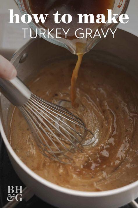 Our Secret to Perfect Turkey Gravy