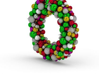 Christmas Ball Wreath Free 3d Model Ball Wreath Christmas Balls Design Freebie