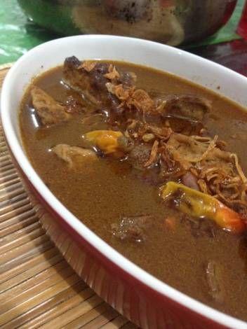 Resep Brongkos Daging Semarang Oleh Heshidayat Resep Makanan Resep Resep Makanan