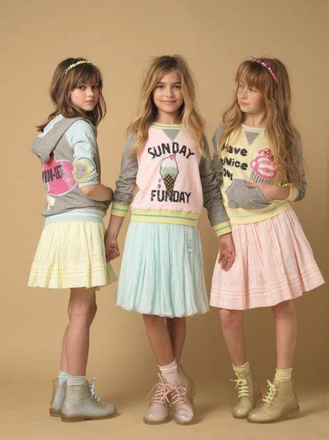 Cute pastel skirts