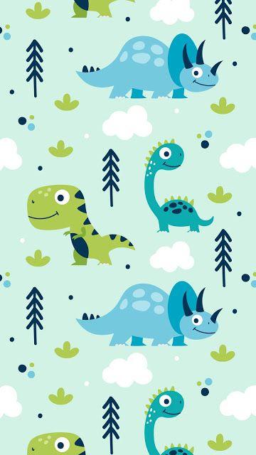 Cute Wallpaper Dinosaur Wallpaper Cute Cartoon Wallpapers Phone Wallpaper