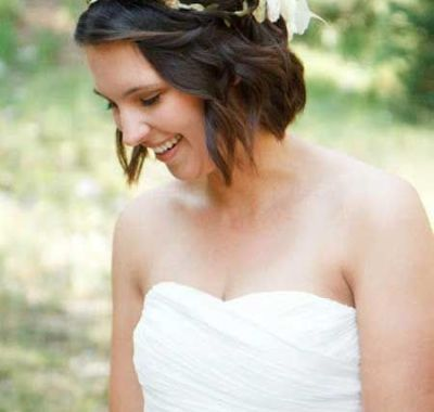 Beach Wedding Hairstyles For Short Length Hair