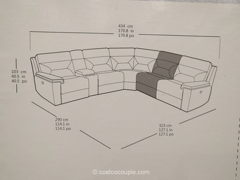 Kuka Leather Reclining Sectional Costco Leather Reclining Sectional Reclining Sectional Sectional