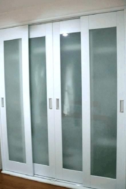 Image Result For Sliding Closet Doors With Frosted Glass With