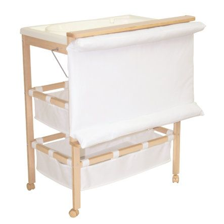 Roba Table A Langer Baignoire Combinable Baby Pool Bois Naturel
