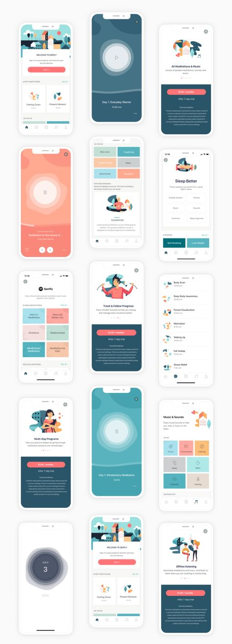 Mobile App Design Process: UX/UI Case Study {Part 2}