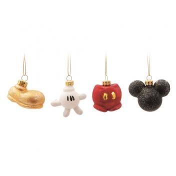 Enfeite Para Arvore De Natal Disney Kit Miniaturas Mickey Jogo 4