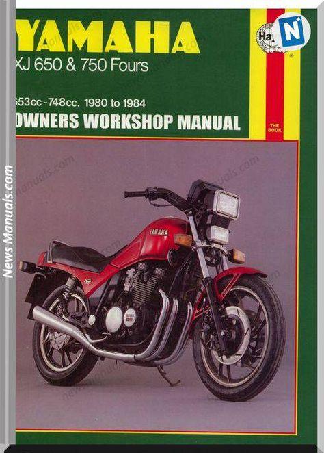 Yamaha Xj650 750 80 84 Service Manual Yamaha Xj 650 Autos Y Motocicletas Yamaha