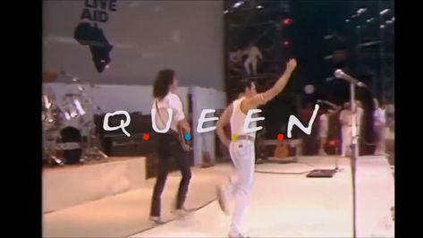 Queen- Friends parody #freddiemercury I found this on YouTube