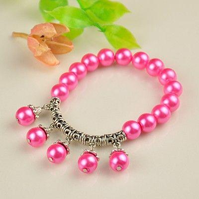 PandaHall Jewelry—Fashion Tibetan Style Glass Pearl Bracelets | PandaHall Beads Jewelry Blog