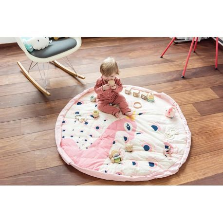 play and go soft tapis d eveil paon