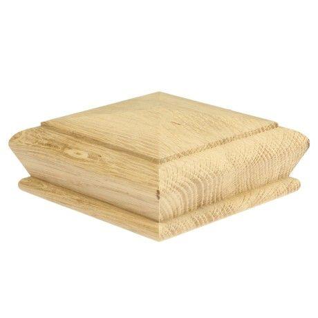 Oak Pyramid Cap 82mm Ceiling Design Bedroom Newel Post Caps Oak