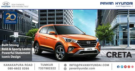 The Bold Cascade Design Front Grille With Bi Functional Projector Headlamps Adds A Sporty Look To The Allnew2018creta Test Hyundai Cascade Design Sporty Look