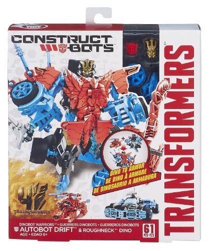 Transformers construct bots Optimus Prime /& Gnaw NIP