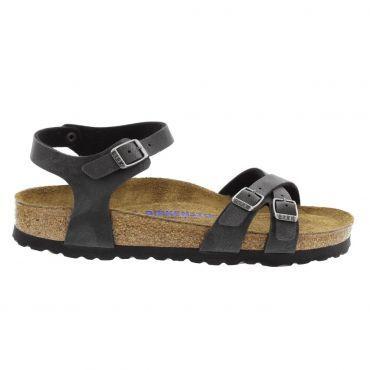 Birkenstock Kumba sandalen dames black   Comfortabele