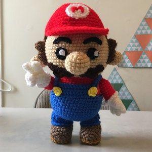 Luigi Plushie   Mario crochet, Crochet amigurumi free, Crochet ...   300x300