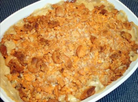 Creamy Country Chicken Casserole #Casserole #justapinchrecipes