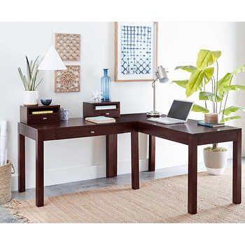 U Brands Rose Gold Desktop Filing Set In 2020 Corner Desk Desk Desk Dimensions