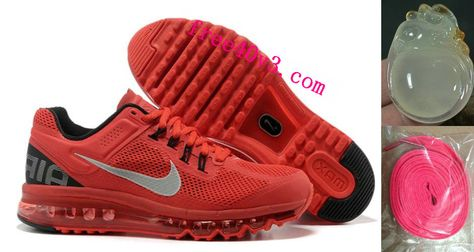 pretty nice 06d1f a25f6 Mens Nike Air Max 2013 Red Black Shoes  Red  Womens  Sneakers