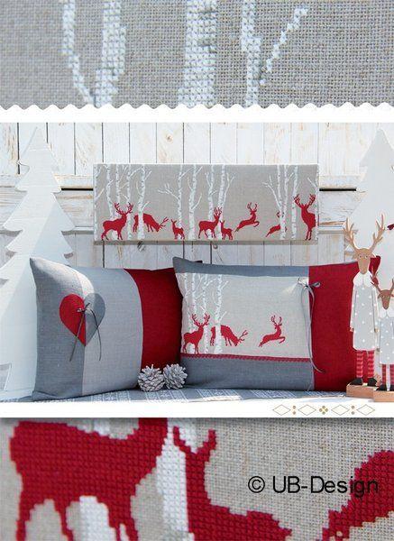 Von Drauss Vom Walde Weihnachten Kreuzstich Kreuzstich Rentier Weihnachten