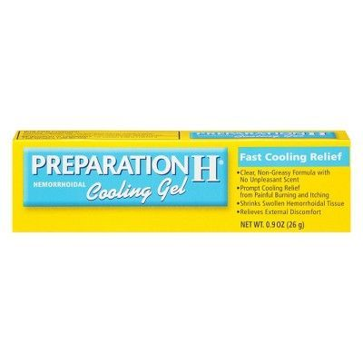 Preparation H Hemorrhoidal Cooling Gel 0 9oz With Images