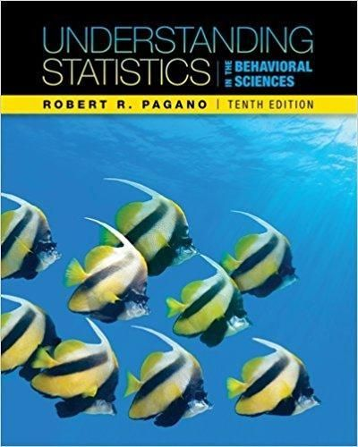 Understanding Statistics In The Behavioral Sciences 10th Edition