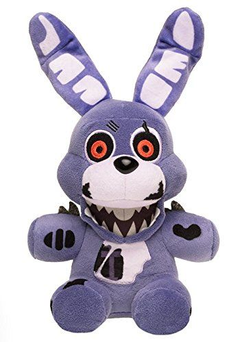 BLUE Neon BLACKLIGHT Plush Funko Toys FNAF Five Nights At Freddy/'s FOXY 8in