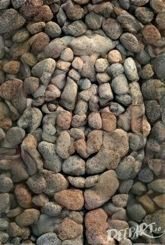 Garden art diy stone pebble mosaic 39 ideas for 2019 Pebble Mosaic, Pebble Art, Mosaic Art, Mosaic Mirrors, Pebble Stone, Stone Mosaic, Stone Crafts, Rock Crafts, Arts And Crafts