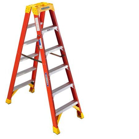 Home Improvement Ladder Wood Steps Plastic Step Stool