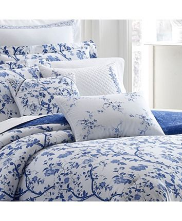 Pin On Blue And White Bedroom