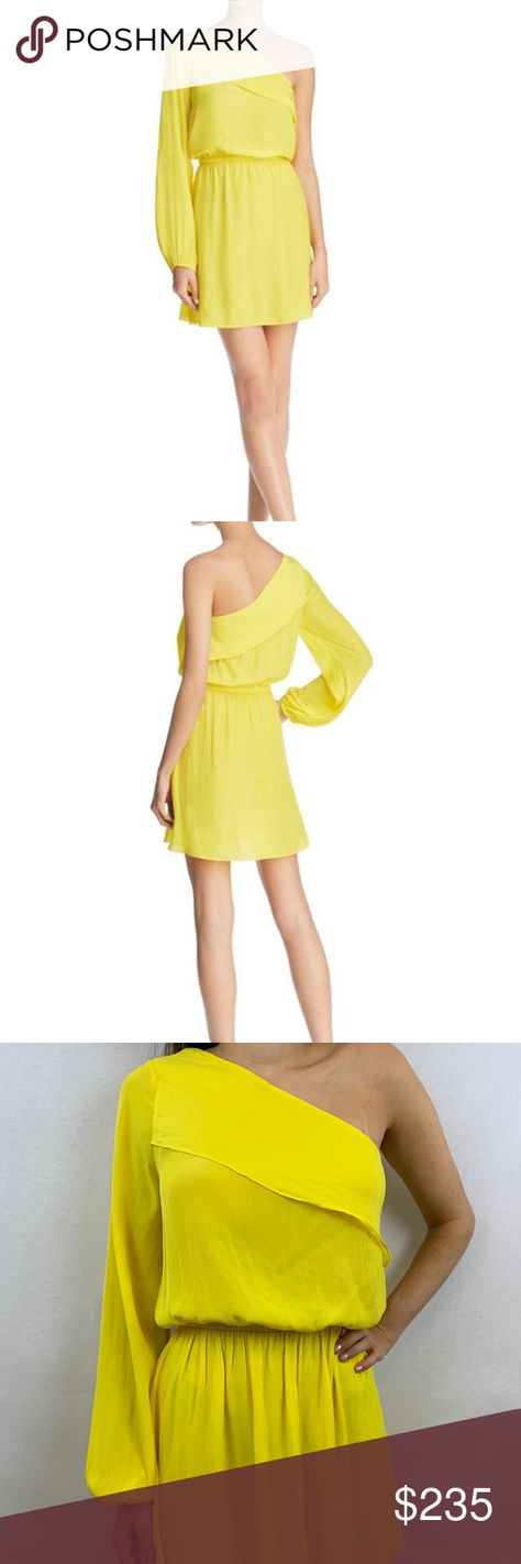 NWT!  Ramy Brook Yellow Dress Size Extra Small NWT!  Ramy Brook Yellow Dress Size Extra Small Ramy Brook Dresses Mini