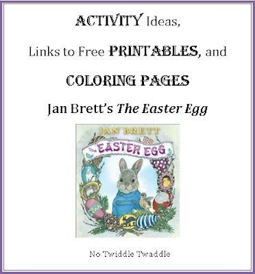 activities for jan bretts the easter egg - Jan Brett Easter Coloring Pages