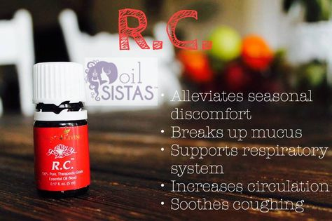 How to Use Young Living R.C. Essential Oil (Respiratory Comfort)
