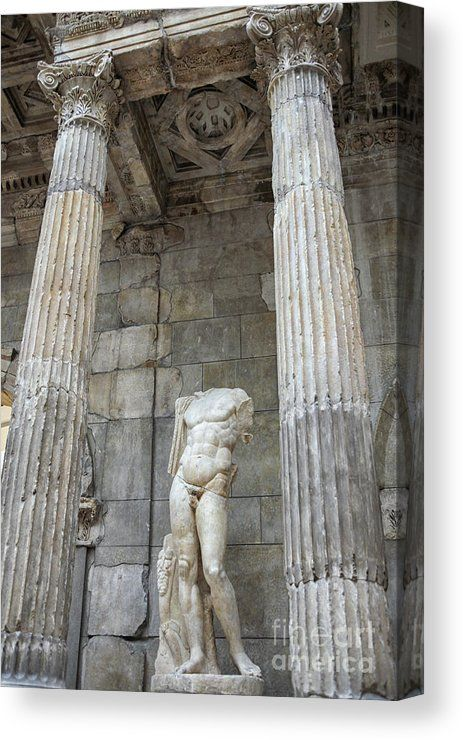 Greek Statue Canvas Print Canvas Art By Patricia Hofmeester In 2020