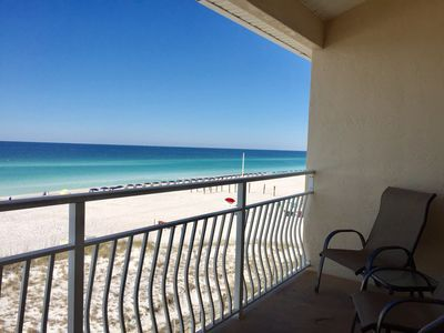 Beachfront Unit At Crystal Sands With Beach Vrbo Destin Oceanfront Crystal Beach Beachfront