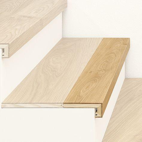 ArtNr 38001 Treppenkantenprofil 3-Schicht mit Abschluss Unser - exklusives treppen design