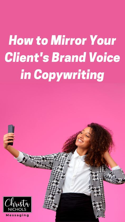 How to Use Your Copywriting Client's Own Brand Voice When Writing Their Ad Copy