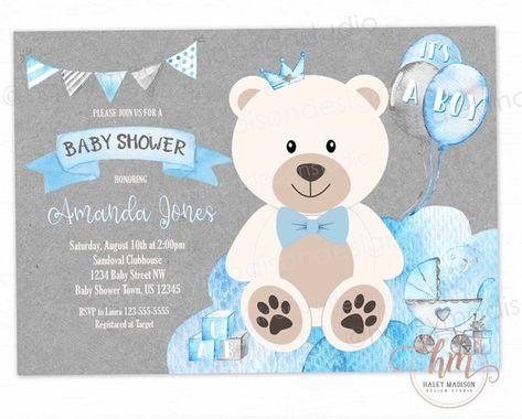 Ideas Baby Shower Nino Ositos.Pin De Leonela Gonzalez En Cumple Oso En 2019 Baby Shower
