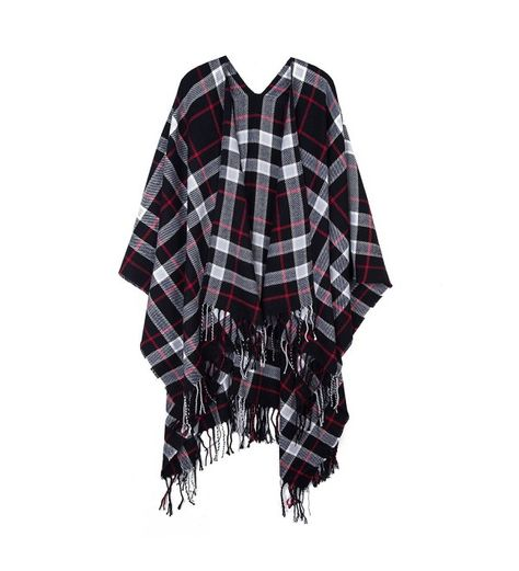 b8ab0852db24b Scarves & Wraps, Cold Weather Scarves & Wraps, Unisex Soft Classic Plaid  Pashmina Scarf Color Contrast Easy to Match Shawl Wrap Scarf Black  C91889HS262 ...