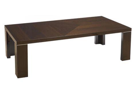Alpine Rectangular Coffee Table Contemporary Coffee Table