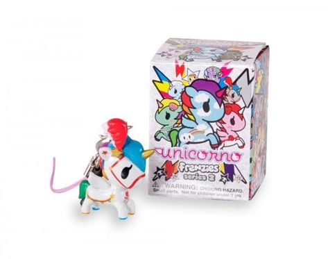 Tokidoki Unicorno Frenzies Series 2 Cornetto Blind Box Keychain NEW