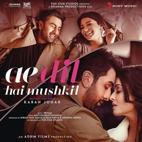 Ae Dil Hai Mushkil (2016) Mp3 Songs | jaipur