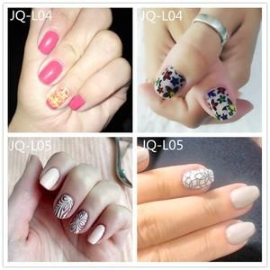 1 Pcs Nail Art Stainless Steel Stamping Plates - Brevityshop.com