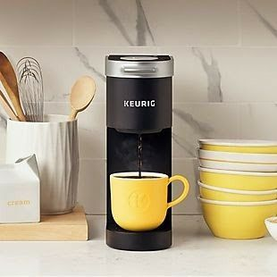 Mini Kuerig In Aqua Look For It At Christmas Camping Coffee Maker Single Cup Coffee Maker Keurig Coffee Station